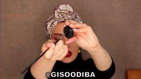 آموزش خط چشم و خودآرایی توسط گیسو دیبا