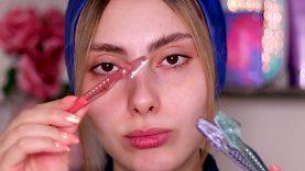 آموزش اصلاح صورت در خانه توسط gisoo diba