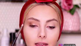 آموزش آرایش و میکاپ جنیفرلوپز توسط gisoo diba